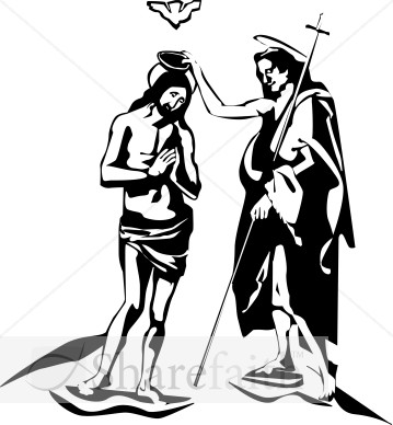 John the baptist clip art.