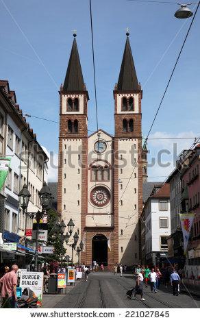 Saint kilian's church clipart #8