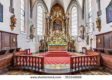 Saint kilian's church clipart #6