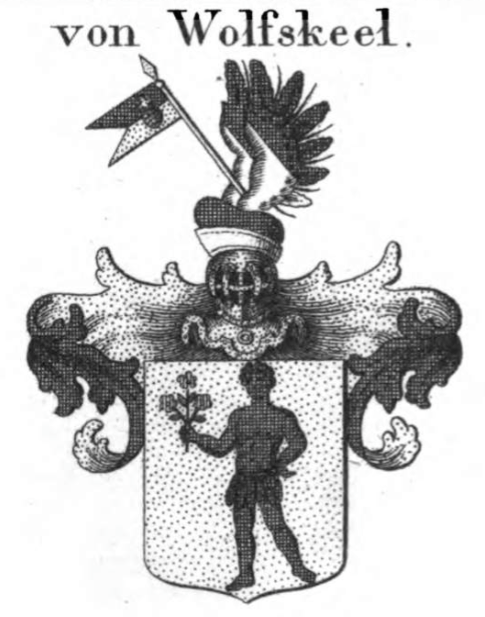 St. Maurice becomes a savage and a caricature on a family crest.