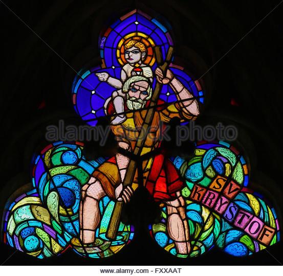 Saint Christopher Painting Stock Photos & Saint Christopher.