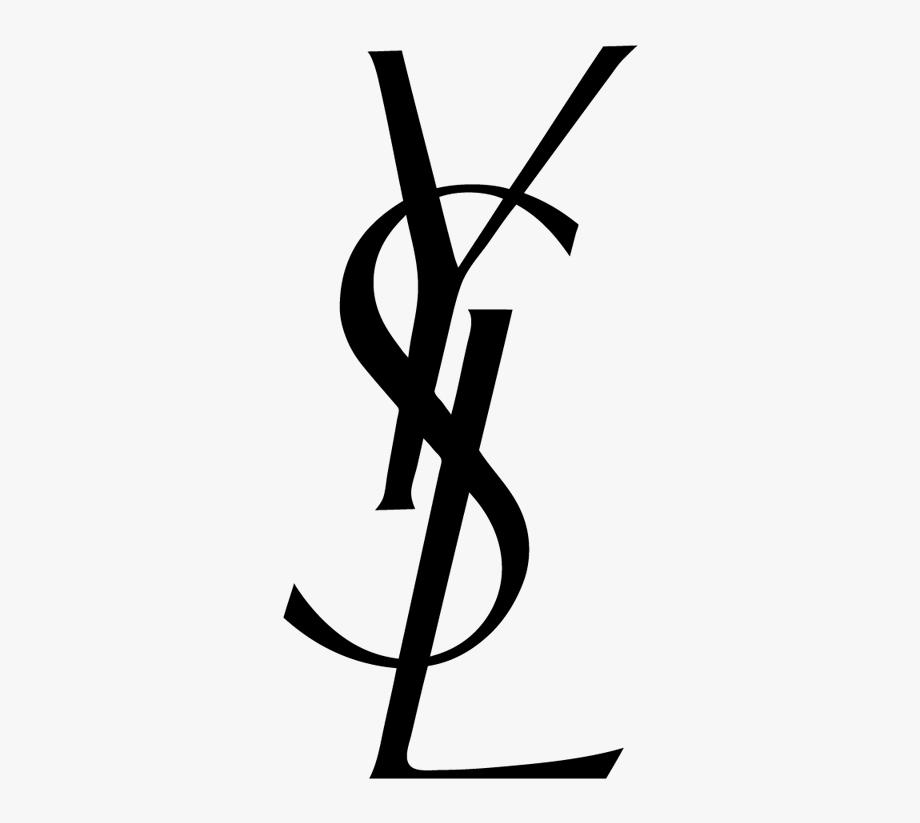 Yves Saint Laurent Logo , Transparent Cartoon, Free Cliparts.