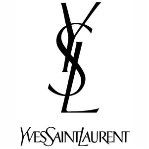 Ysl Yves Saint Laurent logo vector image.