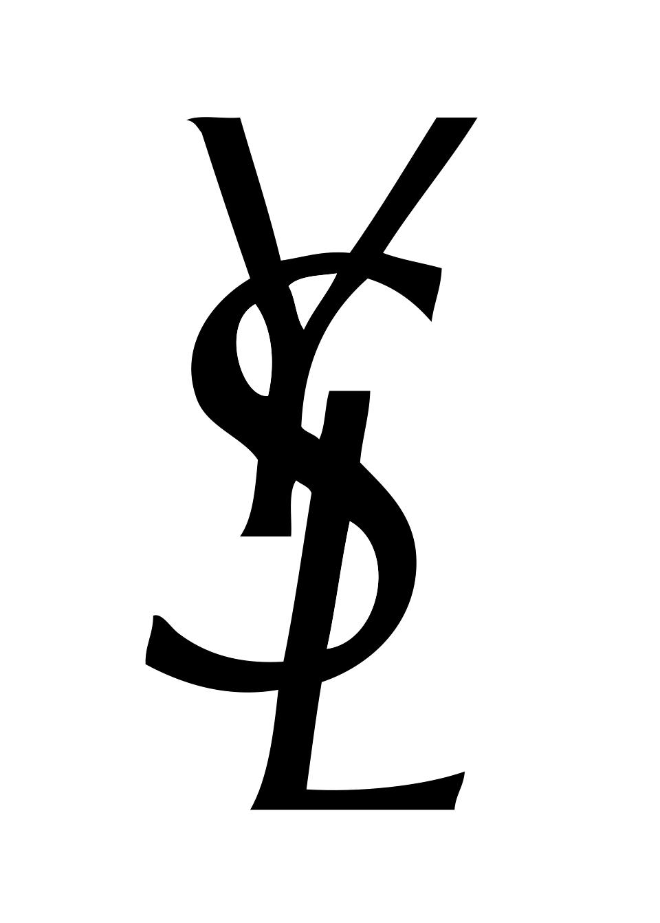 YSL Logo / Fashion and Clothing / Logonoid.com.