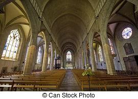 Stock Photo of Saint Leonard in france.