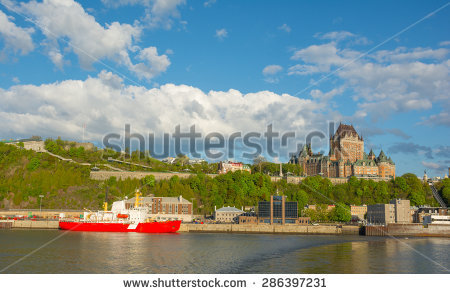 Saint Lawrence River Stock Images, Royalty.