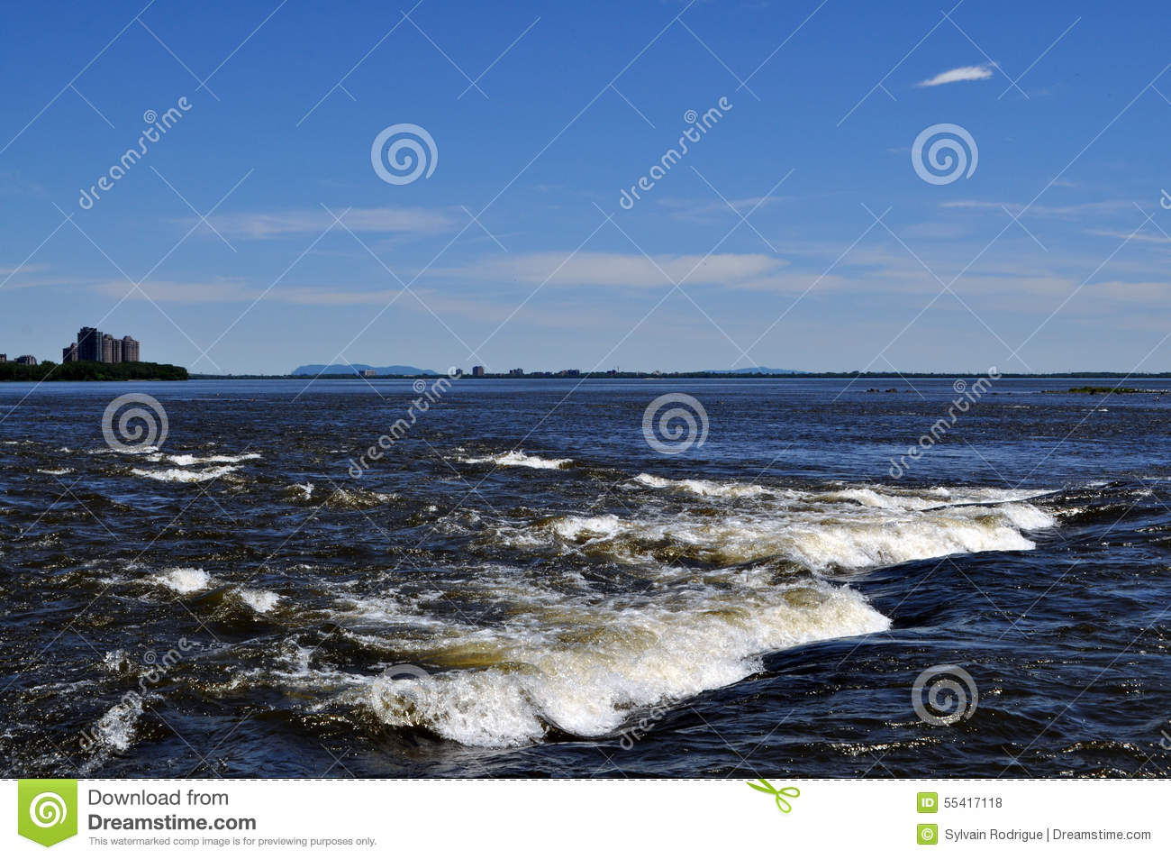 Lachine Rapids And St.