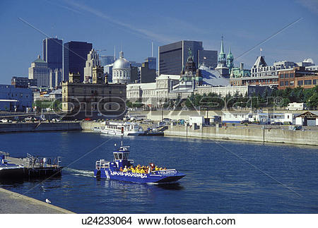 Stock Photo of Canada, Montreal, Quebec, Saute Moutons excursion.