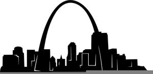 St Louis Arch Clipart.