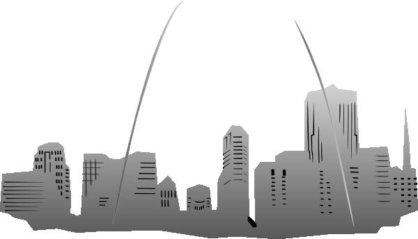 Large St. Louis Silhouette Clip Art at Clker.com.