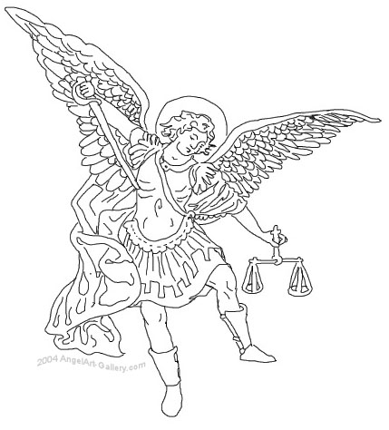 angel michael clipart - photo #11
