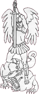 Saint Michael Clipart.