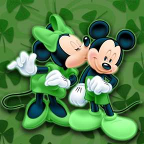 Disney St. Patrick's Day Backgrounds.