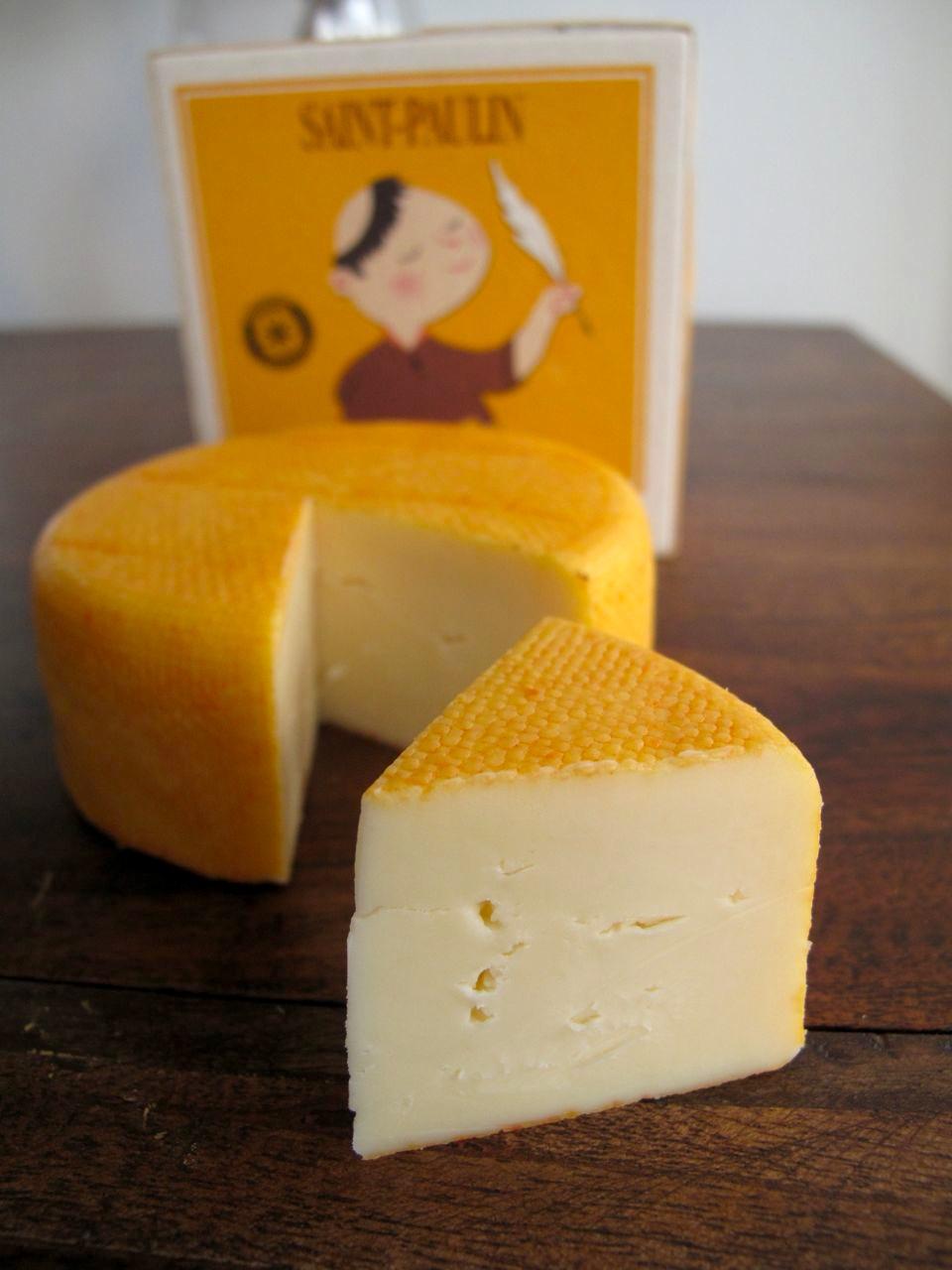 Cheese: Saint Paulin.
