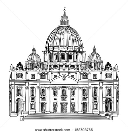 Basilica Cathedral Stock Vectors, Images & Vector Art.