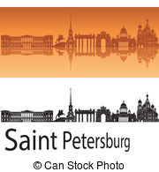 Saint petersburg skyline Clipart Vector and Illustration. 66 Saint.