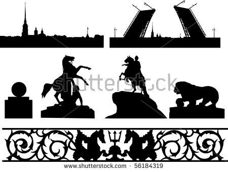 Saint Petersburg Banque d'images vectorielles, d'images et de.