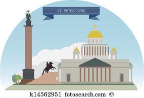 St petersburg Clip Art and Illustration. 240 st petersburg clipart.
