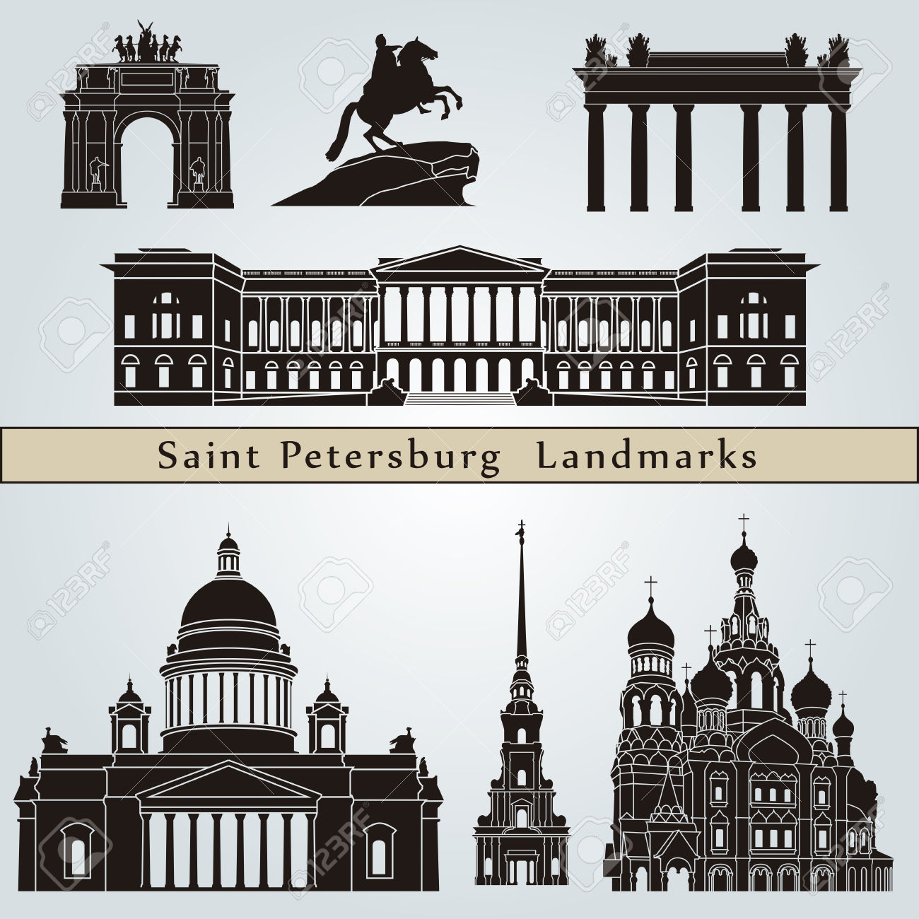 790 Saint Petersburg Cliparts, Stock Vector And Royalty Free Saint.