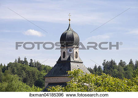 Stock Images of Saline chapel of St. Rupert and Maximilian.