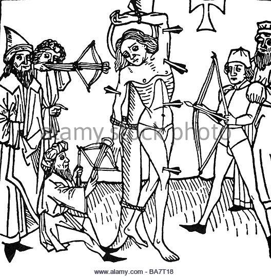 Martyrdom Of Saint Sebastian Stock Photos & Martyrdom Of Saint.