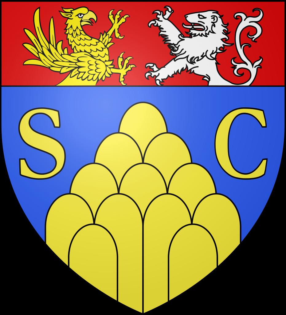 Datei:Blason ville fr Saint.