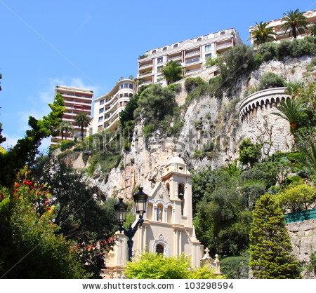 Sainte Devote Environment Monaco Monte Carlo Stock Photo 103298594.