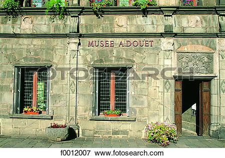 Picture of Auvergne, St Flour, Consular House f0012007.