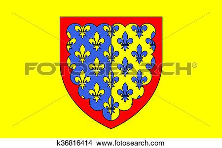 Stock Photo of Flag of Saint.