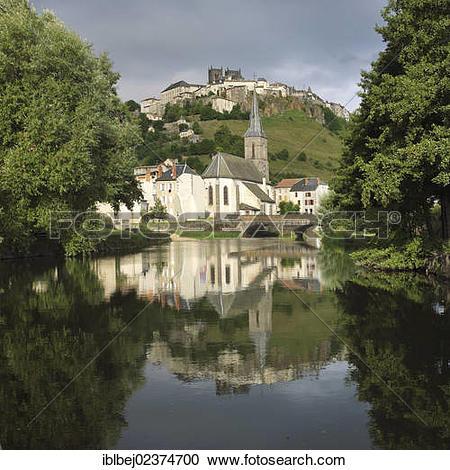 "Stock Photography of ""City of Saint Flour, Cantal, Auvergne."