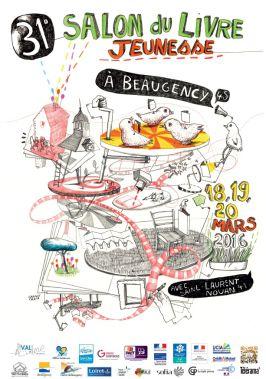 Salon du Livre Jeunesse de Beaugency et Saint.