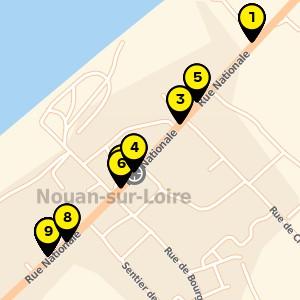 Rue Nationale, Saint Laurent Nouan (41).