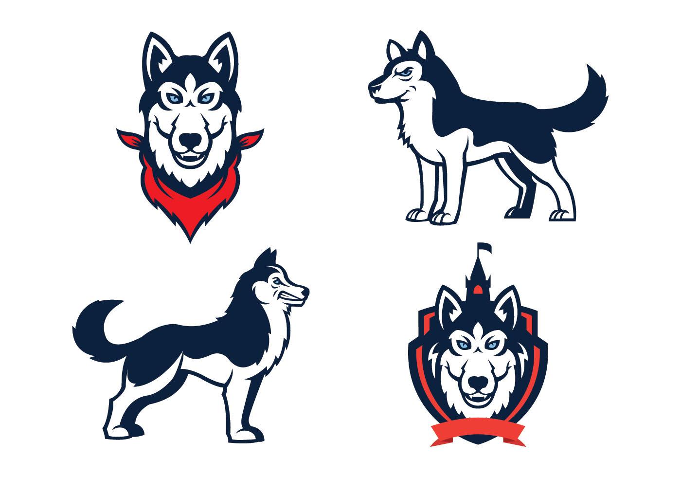 Dog Mascot Free Vector Art.