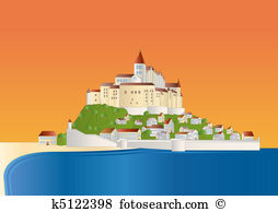 Mont saint michel Illustrations and Clipart. 14 mont saint michel.