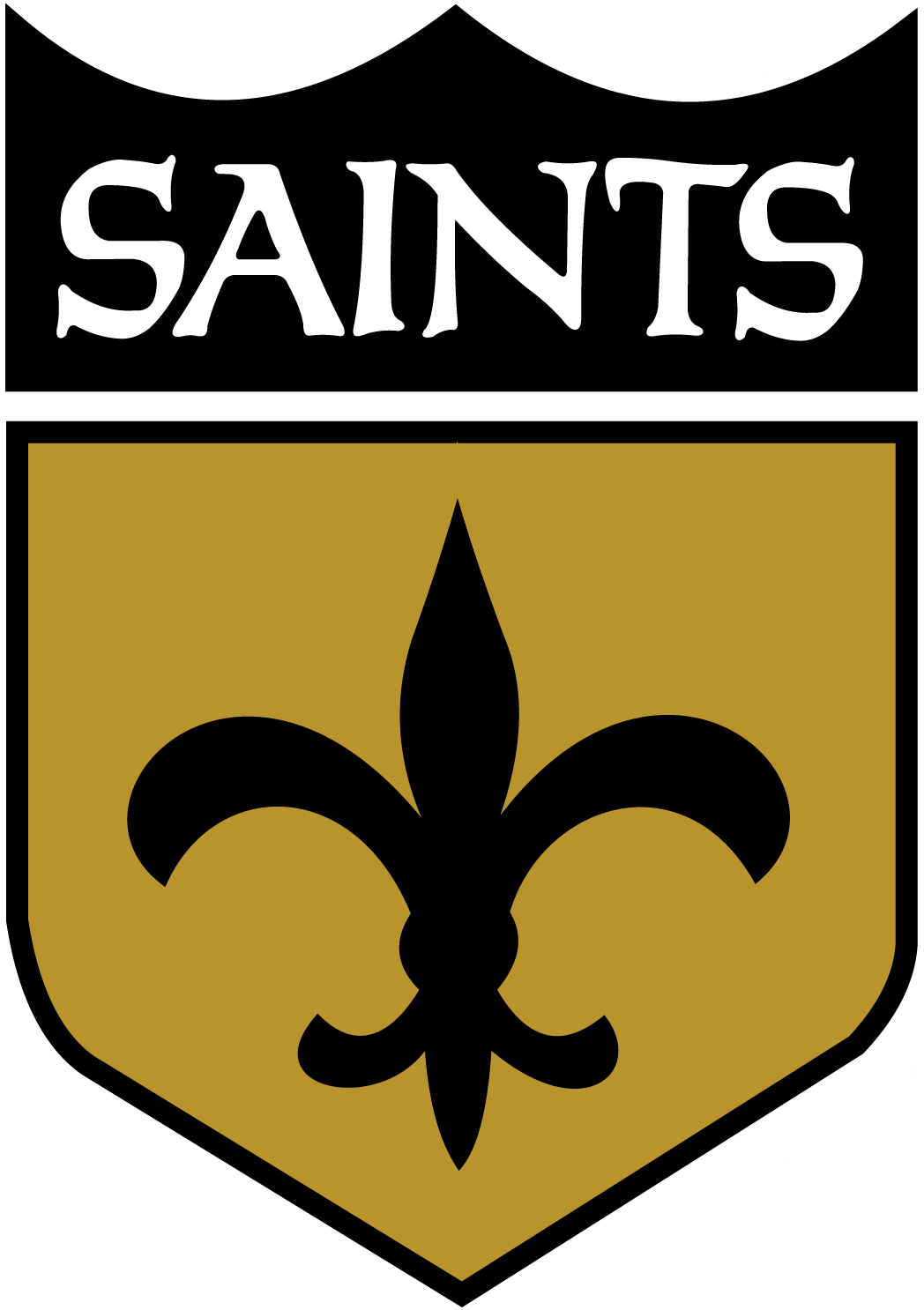 Saints Football Logo.