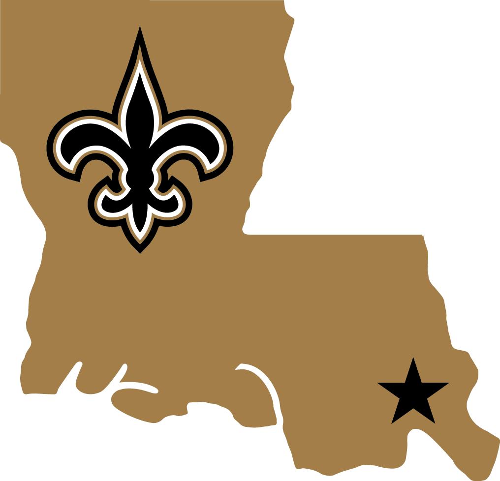 New Orleans Saints Alternate Logo.