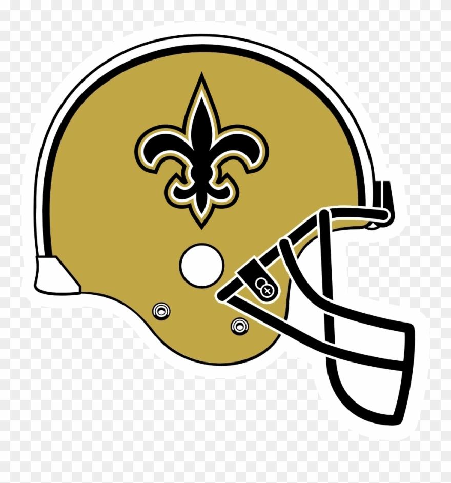 Helmet Clipart Saints.