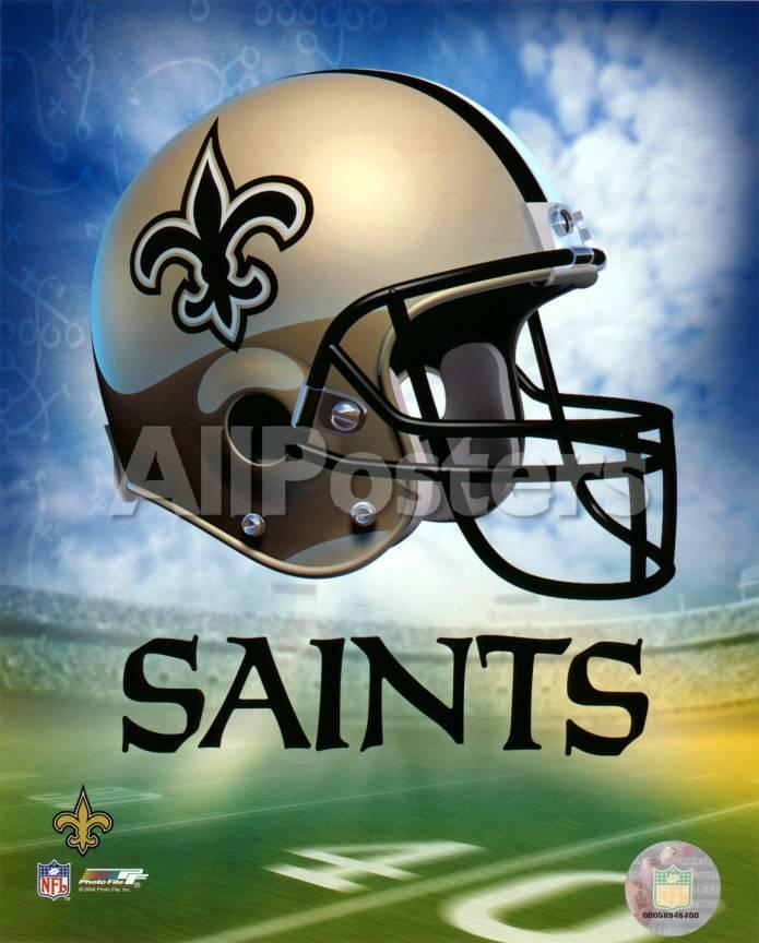 New Orleans Saints Helmet Logo ©Photofile.