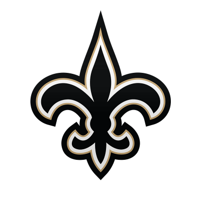 New Orleans Saints Logo transparent PNG.