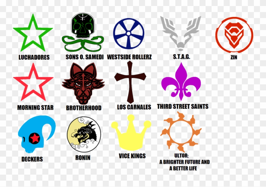 Saints Row, Gang Tags By Theshadowvocaloidfan.