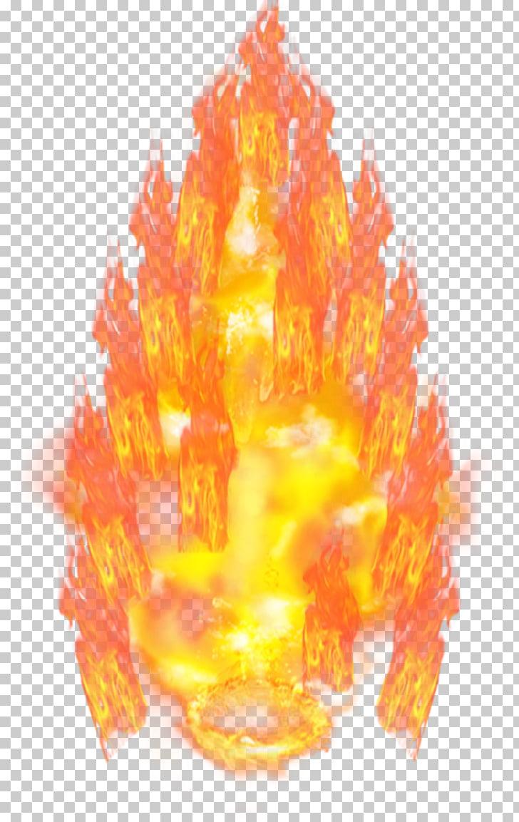 Goku Vegeta Super Saiya Saiyan, aura, fire PNG clipart.