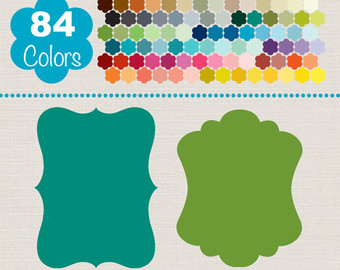 Rainbow Labels Clip Art Planner Label PNGs Printable by HadriART.