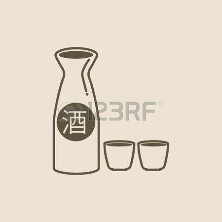 178 Sake And Cups Cliparts, Stock Vector And Royalty Free Sake And.