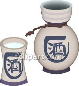 Sake Clip Art.