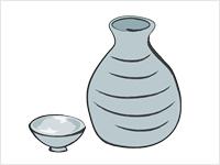 Sake Clipart.