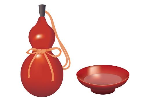 Sake Cup Clip Art, Vector Images & Illustrations.