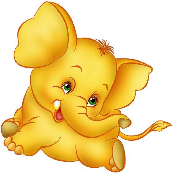 Funny Baby Elephant Clip Art Images.All Baby Elephant Cartoon.