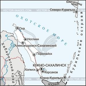 oblast map.