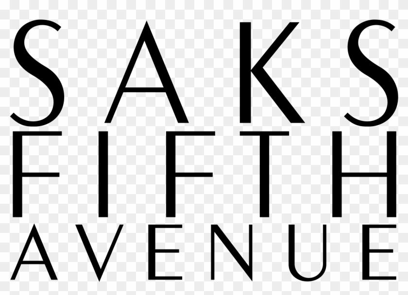 Saks Fifth Avenue Logo Png Transparent.