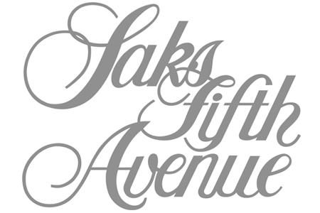 Saks fifth avenue Logos.